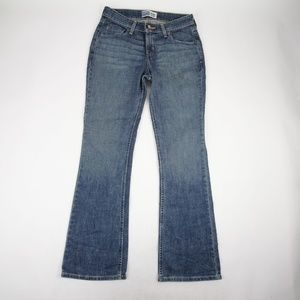 Levis Jeans Size 6 Low Rise Boot Medium Wash